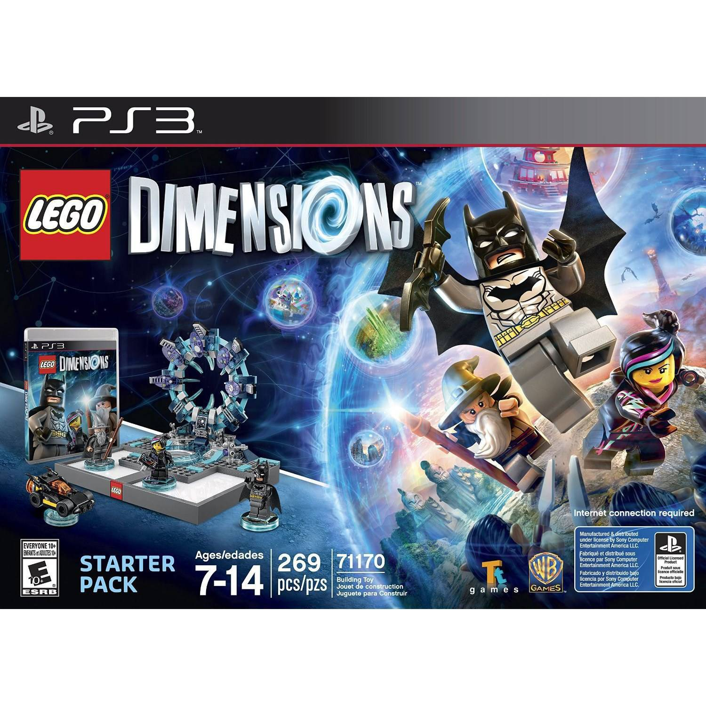 Lego Dimensions Starter Pack (Playstation 3) by TT Games Ltd