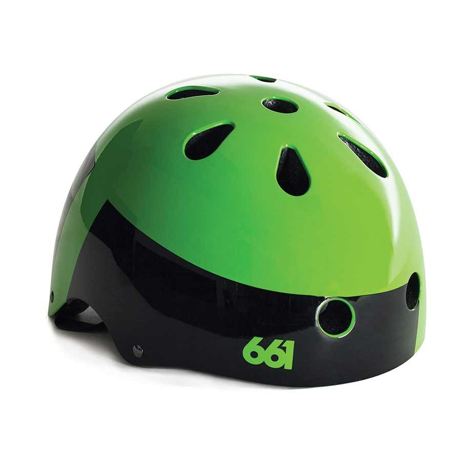 SixSixOne Dirt Lid Matte Lime