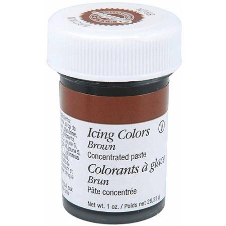 Wilton Icing Color, Brown, 1oz