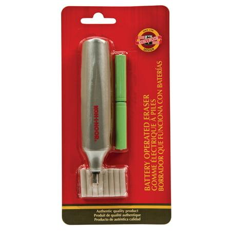 Electronic Eraser (Koh-I-Noor Battery Operated Eraser Refills, 30/Pkg. )
