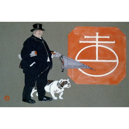Advert for Uneeda Biscuits Canvas Art - Edward Penfield (18 x 24)