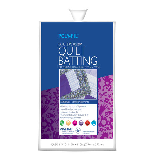 Quilter's 80/20 Poly/Cotton Batting