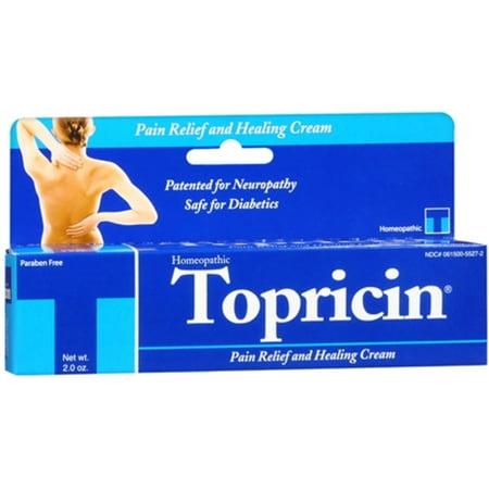 Rub 2 Ounce Cream - Topricin Pain Relief Cream 2oz Tube