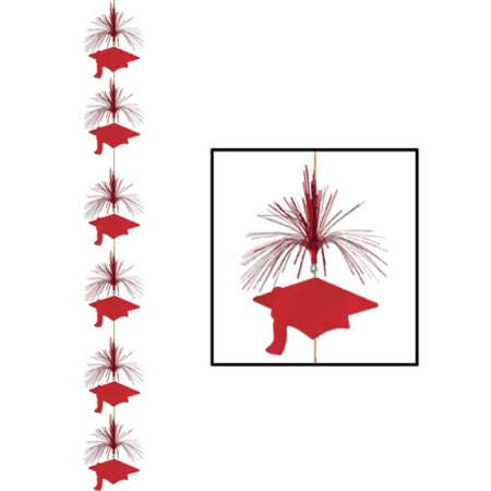 Grad Cap Firework Stringer-Red - Firework Supplies