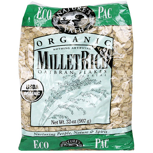 ***Discontinued***Nature's Path Organic Millet Rice Cereal With Oatbran, 32 oz (Pack of 6)