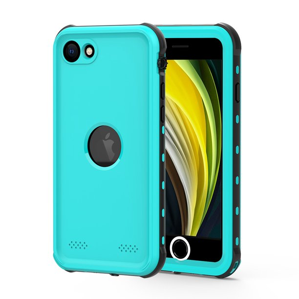 iPhone SE 2020 Waterproof Case, Dteck Full-body Protection Shockproof Case For iPhone SE 2020, Blue