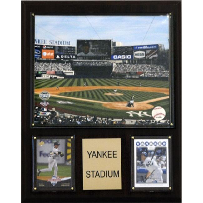 C & I Collectables 1215YANKST MLB Yankee Stadium Plaque