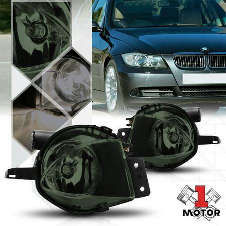Smoke Tinted Lens Fog Light Bumper Lamps For 06 08 Bmw E90 E91 E92 E93 3 Series 07