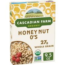 Breakfast Cereal: Cascadian Farms Honey Nut O's