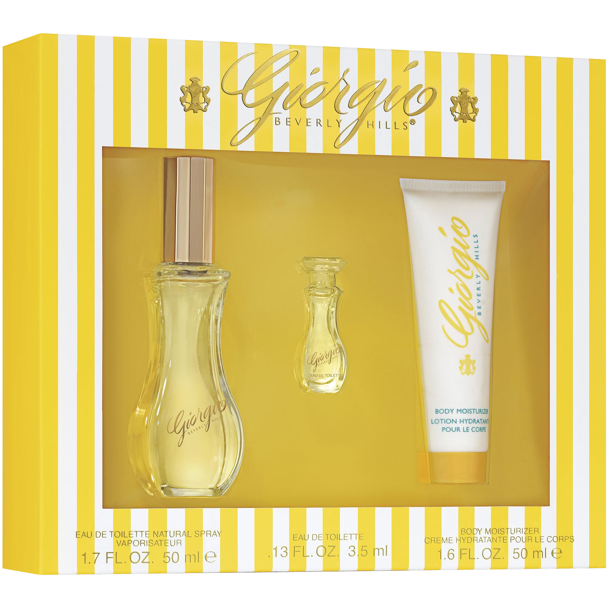 Giorgio Beverly Hills Fragrance Gift Set, 3 pc