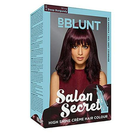 Bblunt Salon Secret High Shine Creame Hair Colour (Wine Deep Burgundy: 4