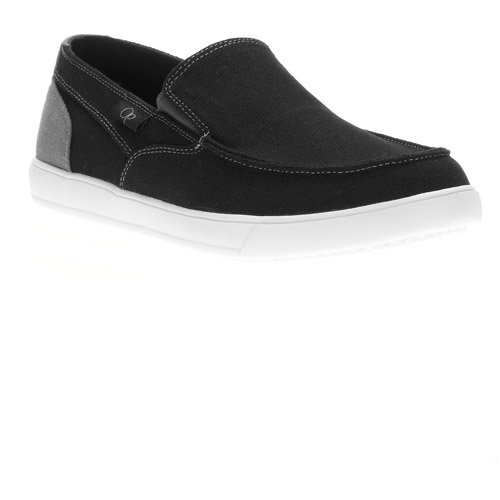 OP Mens' Canvas Moc Twin Gore Slip On Shoes