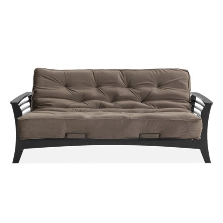 Simmons Futons Chicago Wenge Futon Frame With 8 Inch Mattress