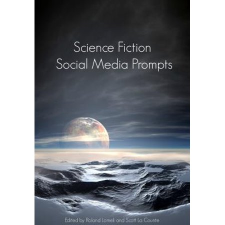 Science Fiction Social Media Prompts for Authors - eBook