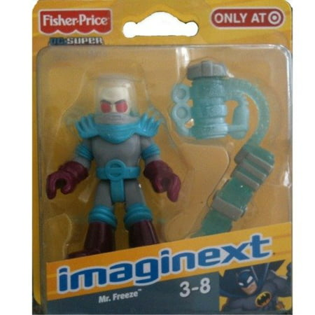 Fisher-Price Imaginext DC Super Friends, Captain Cold and Ice Cannon Action Figure, Captain Cold plays it cool with Batman! By FisherPrice Ship from US