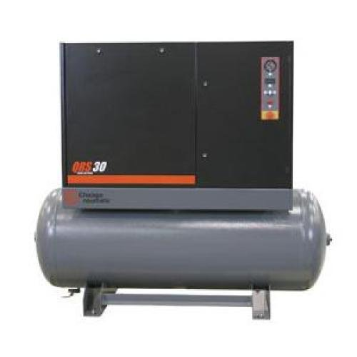 Rotary Screw Air Compressor,30HP,3Ph CHICAGO PNEUMATIC QRS 30 HP