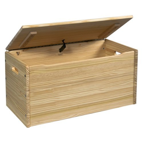 Little Colorado Solid Wood Toy Storage Chest