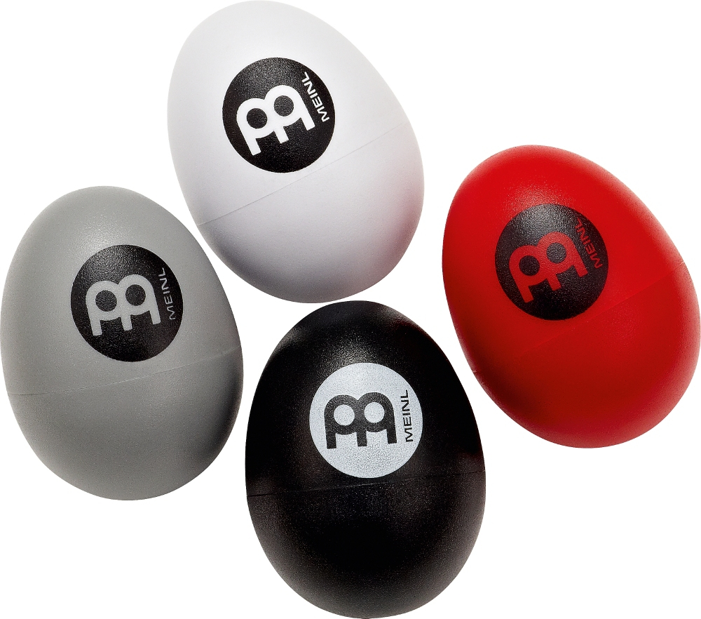 Meinl 4-Piece Egg Shaker Set with Soft to Extra Loud Volumes by Meinl