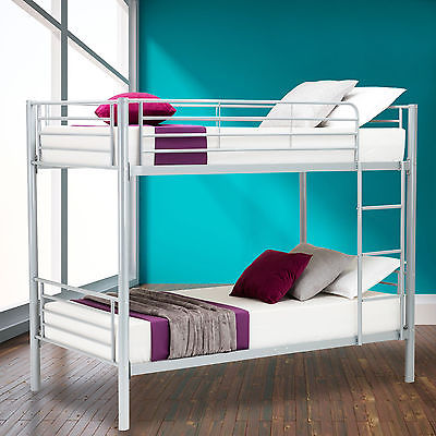 NewItem Metal Twin Over Twin Bunk Beds Frame Ladder Kids Adult Children  Bedroom Dorm GSS172343213