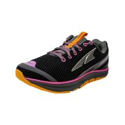 Altra Women's The Torin 1.5 Black / Pink Ankle-High Running Shoe - 6.5M
