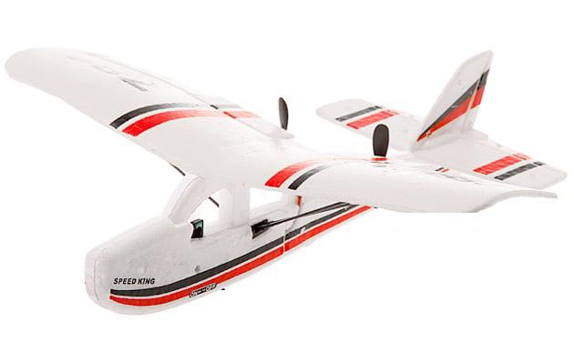 POCO DIVO Micro Cessna 781 Electric RC Plane RTF 2CH Indoor Flight Remote Control Airplane by