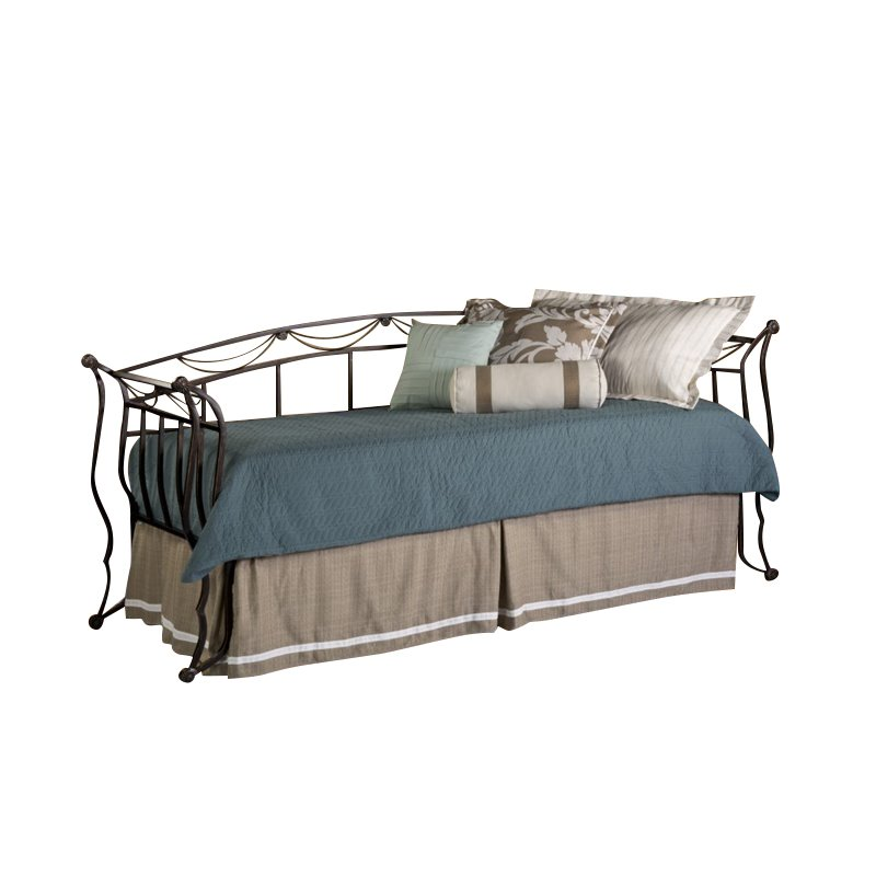 Hillsdale Camelot Day Bed in Black Gold by Hillsdale