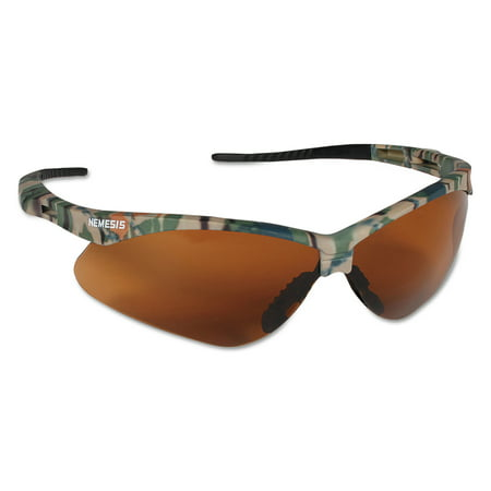 Jackson Safety* Nemesis Safety Glasses, Camo Frame, Bronze (Best All Purpose Canon Lens)