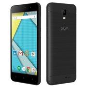 Plum Compass 2 - 4G GSM Unlocked Smart Phone Android 8.0 Quad Core ATT Tmobile Metro Cricket - Black