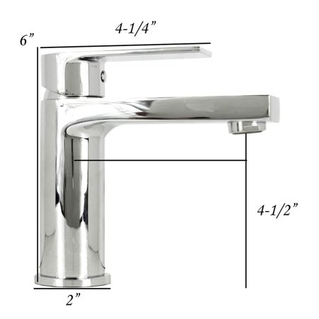 21-1/2 Inch Rectangle Undermount Vitreous Glazed Ceramic Sink with Polished Chrome bathroom faucet  / Pop-up Drain Combo