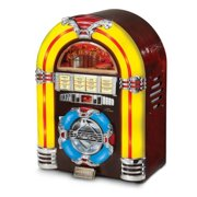 Crosley CR11CD Jukebox CD Player with Authentic Neon Lighting