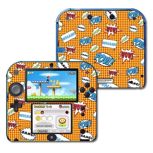 Mightyskins Protective Vinyl Skin Decal Cover for Nintendo 2DS wrap sticker skins Pop Art