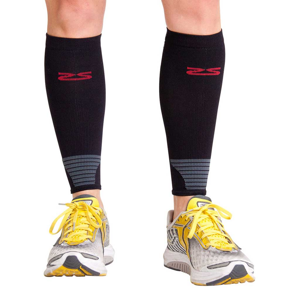 Zensah Ultra Compression Leg Sleeves Neon Pink Medium