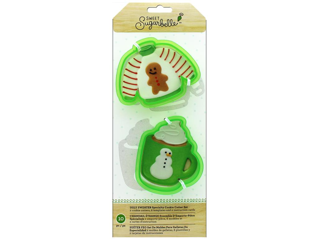 AMC Sugarbelle Cookie Cutter Set Ugly Sweater by American Crafts