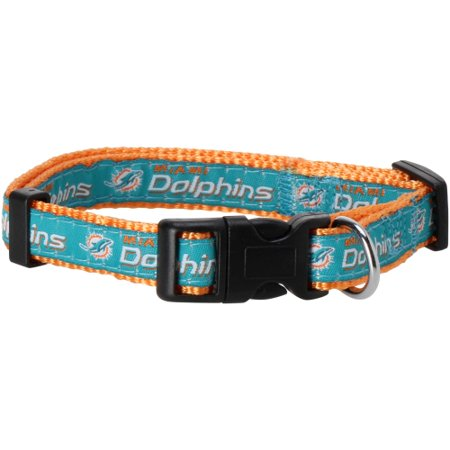 Pets First NFL Miami Dolphins Pet Collar