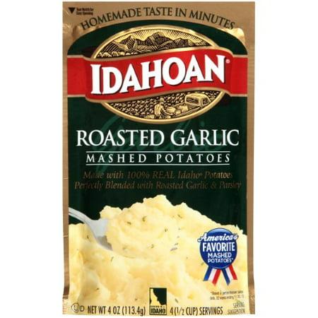 Idahoan, Mashed Potatoes, Roasted Garlic