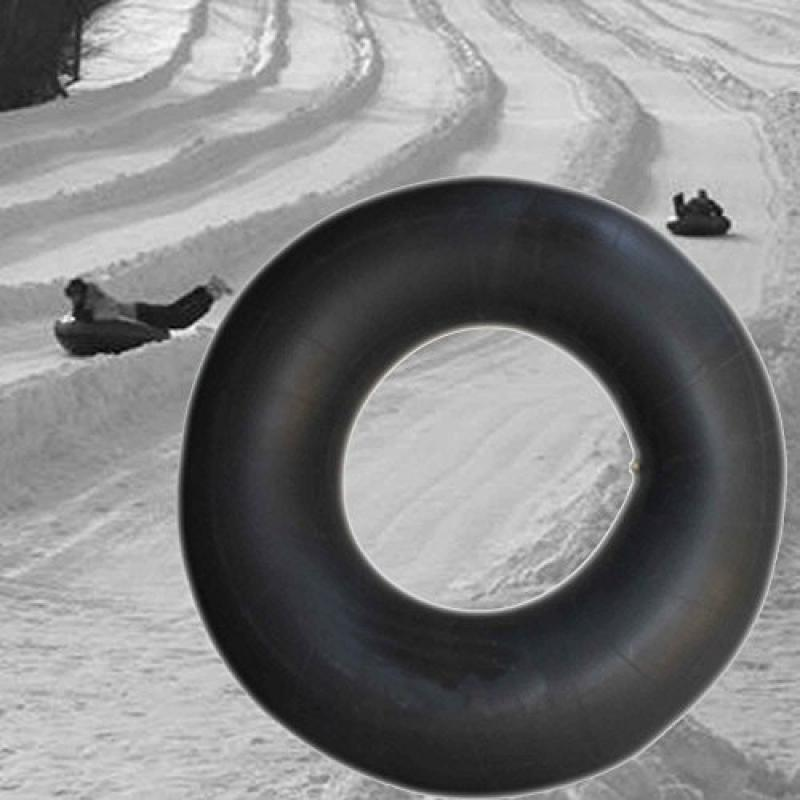 Heavy Duty Snow Tube, Sledding Inner Tube, Butyl Rubber Truck Tube by