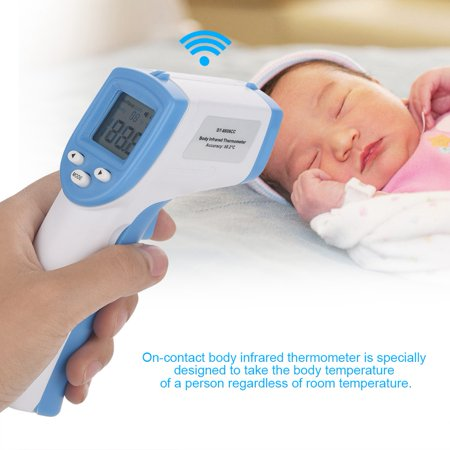 YMIKO LCD Digital Non-contact IR Infrared Thermometer Forehead Body Temperature Meter, Thermometer, Non-contact IR Infrared