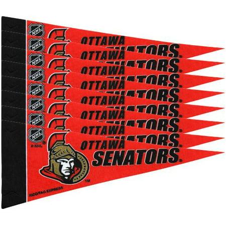 Ottawa Senators NHL Mini Pennant Set (8)