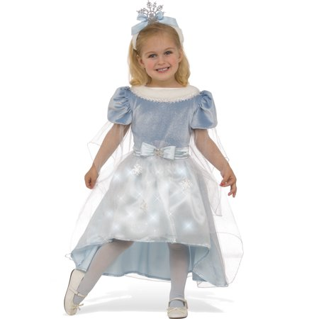 Winter Princess Girls Snowflake Fairy Child Halloween Christmas Costume - Christmas Fairy Costume