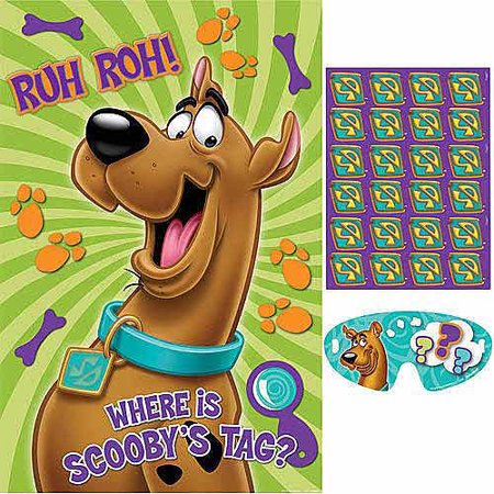 Scooby-Doo Where Are You! Party Game Poster (1ct) - Happy Halloween Scooby Doo Part 2