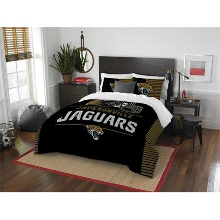 The Northwest 1NFL849000014RET NFL 849 Jaguars Draft Comforter Set, Full & Queen - image 1 of 1
