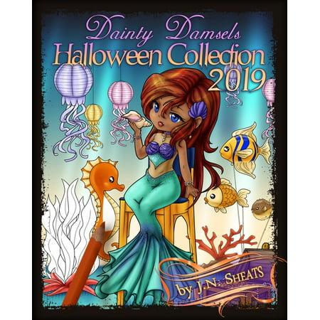 Simpsons Halloween 2019 (Dainty Damsels: Halloween Collection)