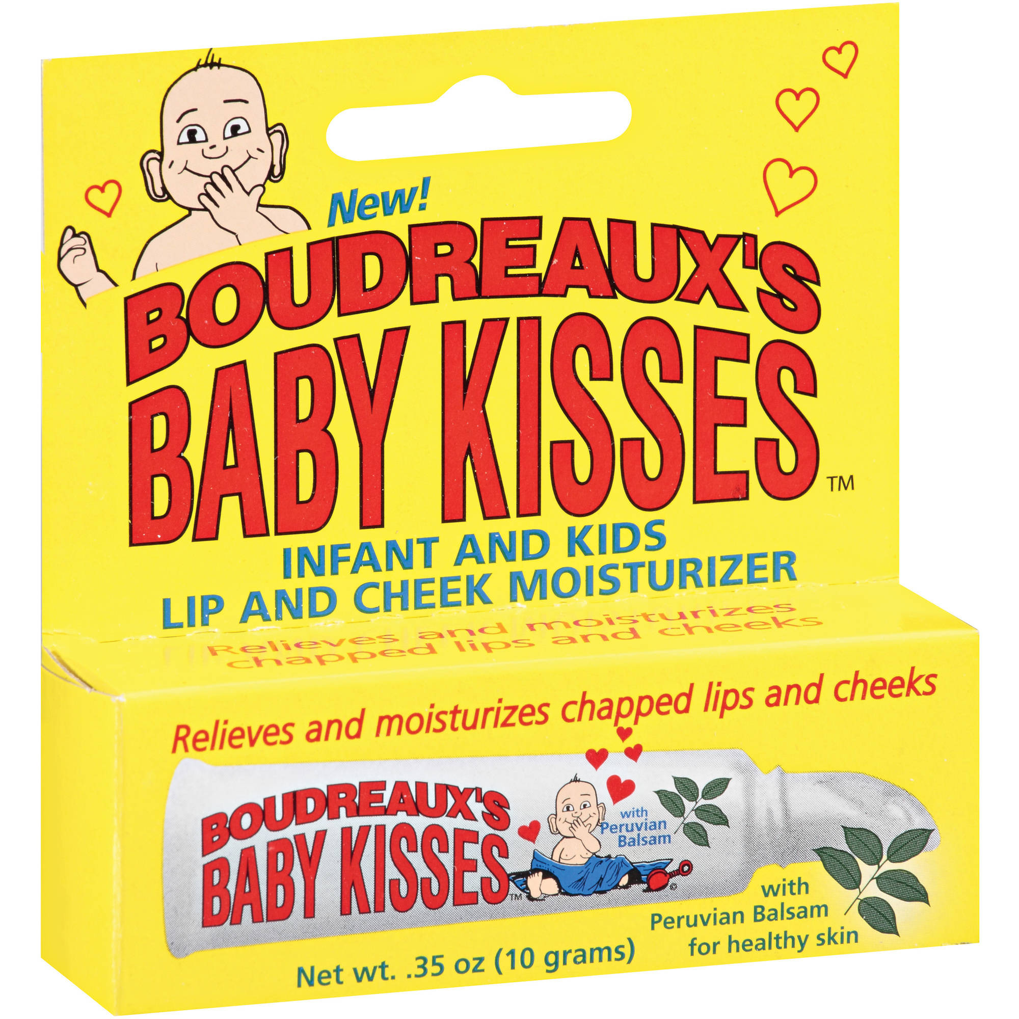 Boudreaux's Baby Kisses Lip And Cheek Moisturizer, 0.35 oz
