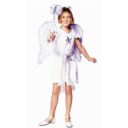 Swan Angel Costume - Dress Only - Size  Child-Large