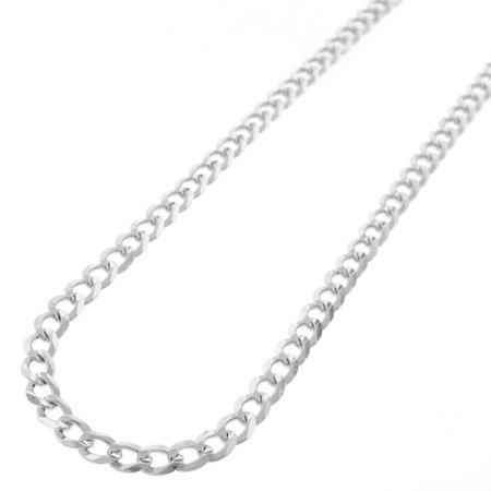 Sterling Silver Italian 5mm Cuban Curb Link ITProlux Solid 925 Necklace Chain 18