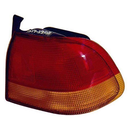 - Go-Parts » 1996 - 1998 Honda Civic Rear Tail Light Lamp Assembly / Lens / Cover - Left (Driver) Side - (4 Door; Sedan) 33551-S04-A02 HO2800117 Replacement For Honda Civic