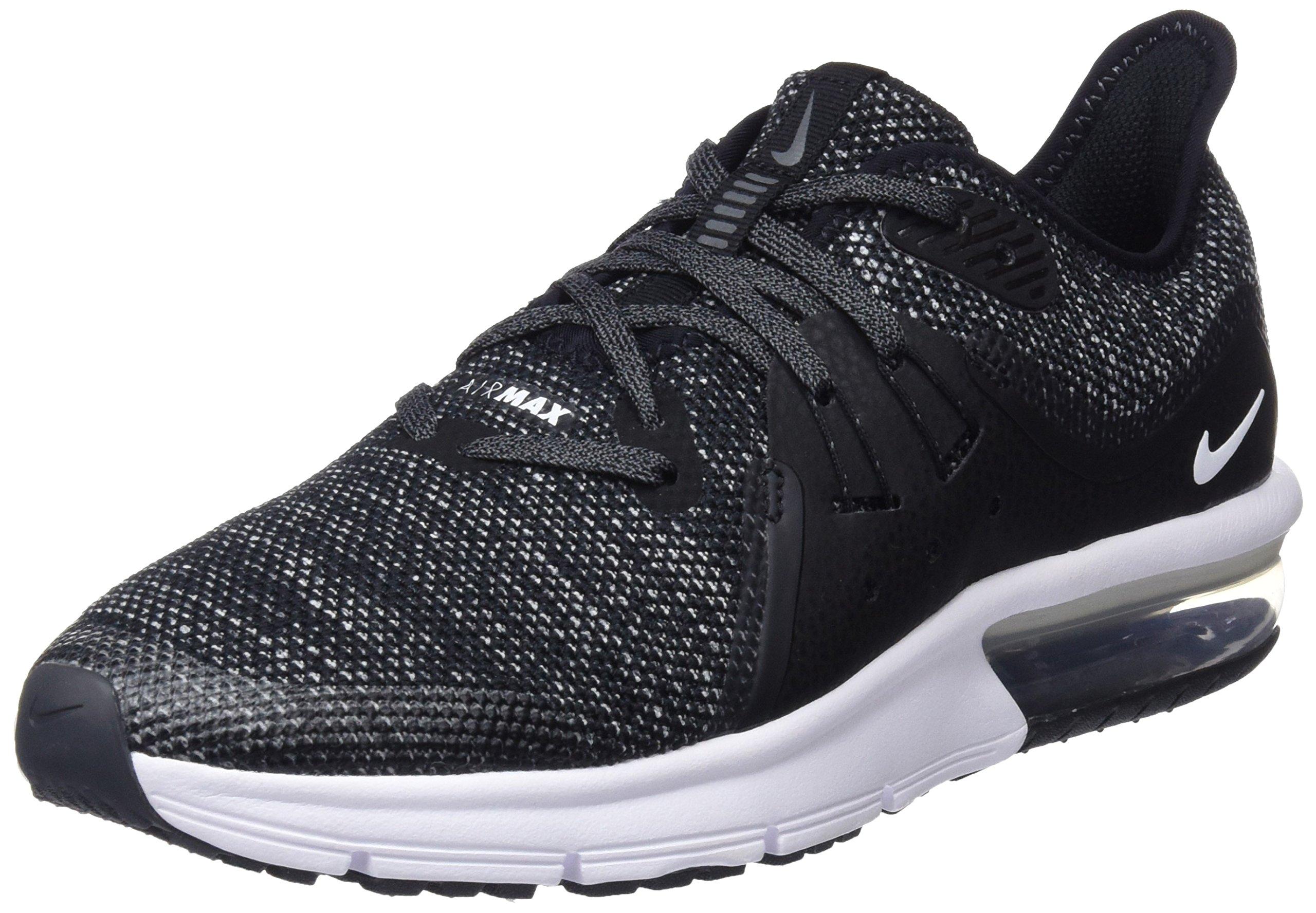 Nike 922884 001: Air Max Sequent 3 Black/White/Grey Big Kid Running