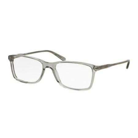 POLO Eyeglasses PH 2155 5413 Shiny Semi Transparent Grey (Cheap Polo Eyeglasses)