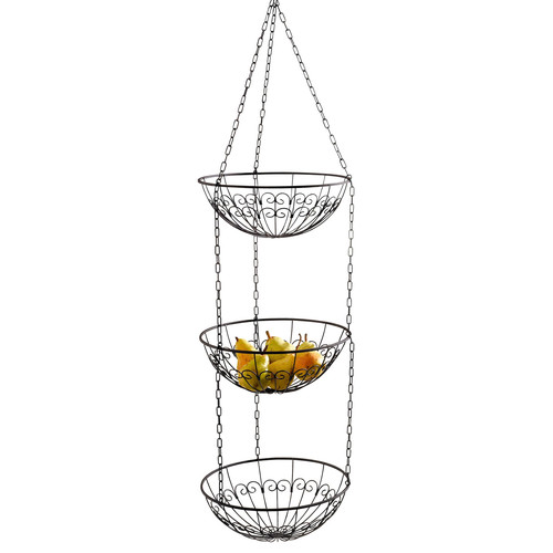 Pier Surplus Wire Hanging Kitchen Fruit Basket