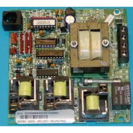 Duplex Digital Circuit Board (Jacuzzi Spa Circuit Board, Digital Duplex 2600-024)